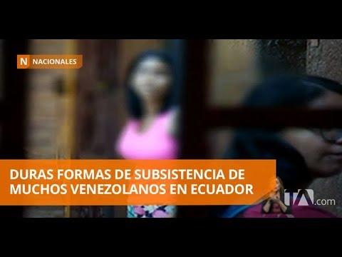 Los venezolanos deben buscar mil formas para subsistir en el país - Teleamazonas