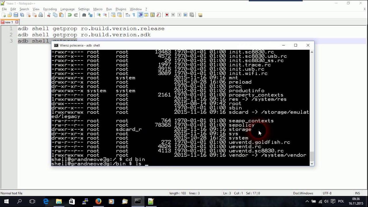 Programowanie Android Co To Jest Android Debug Bridge Adb I Jak Podłączyć Się Do Linuxa Shell
