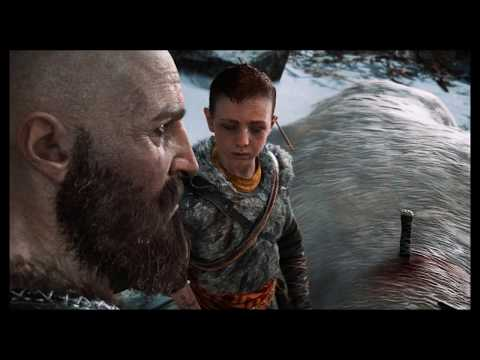 """God of War - The Marked Trees: Help Atreus Aim at Deer """"Finish What You Started"""" Cutscene (2018)"""