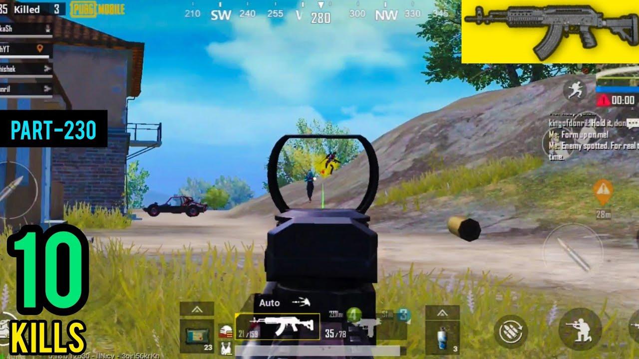 M762 Is Op   Squad Erangel Gameplay   Pubg Mobile - AkhiLesh YT