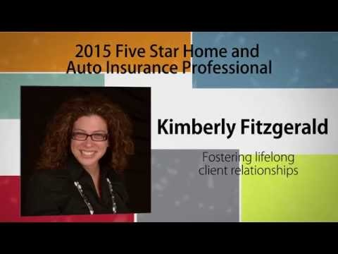 2015 Five Star Connecticut Home and Auto Insurance Professional Kimberly Fitzgerald