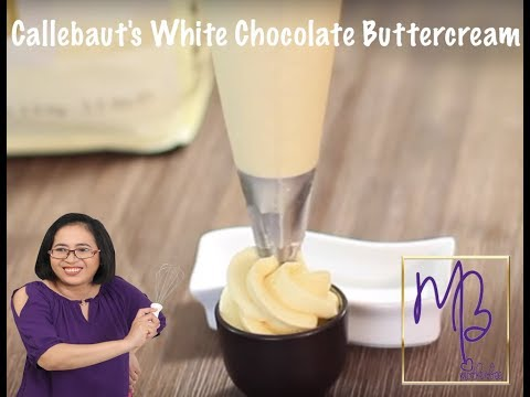 Callebaut's White Chocolate Buttercream