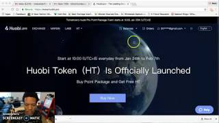 ***HUOBI PRO EXCHANGE - [ HT ] Altcoin Release TODAY!!*** - HUGE ANNOUNCEMENT - DON