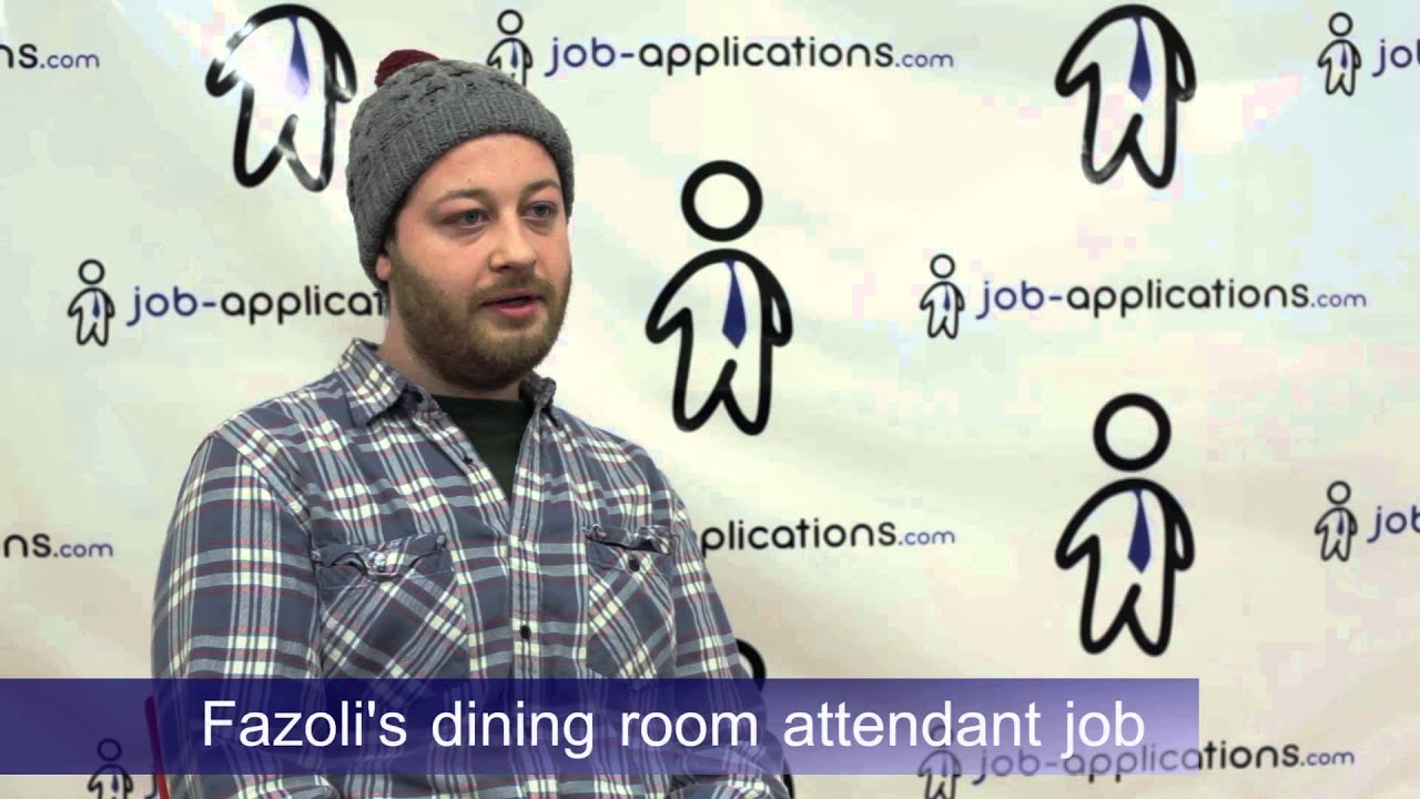 fazoli's interview - dining room attendant - youtube