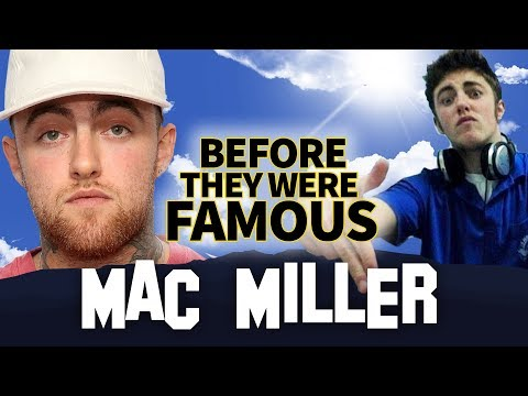 MAC MILLER | Before They Were Famous | Swimming | Biography