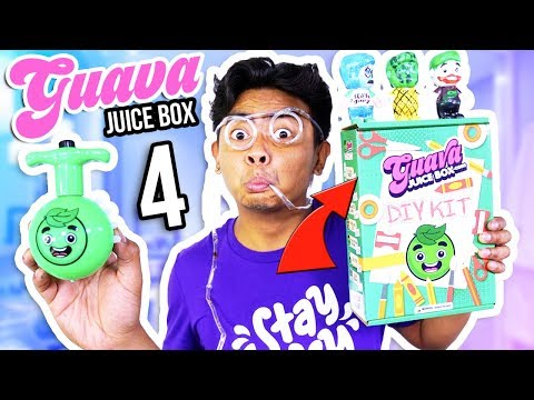 *NEW* Guava Juice Box DIY Kit Edition! (UNBOXING)
