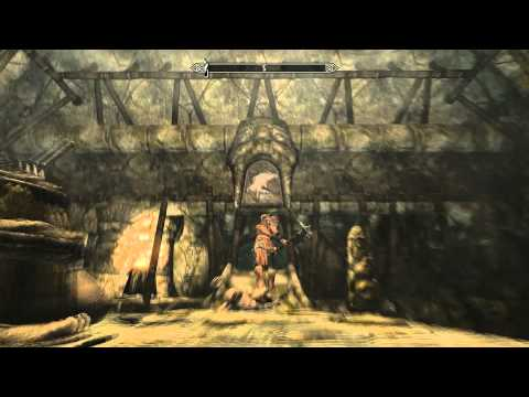SKYRIM Skuldafn Temple Door Puzzle 2 GamePlay Commentary + Tutorial