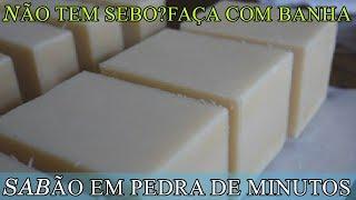 O MELHOR SABÃO CASEIRO COM BANHA DE MERCADO