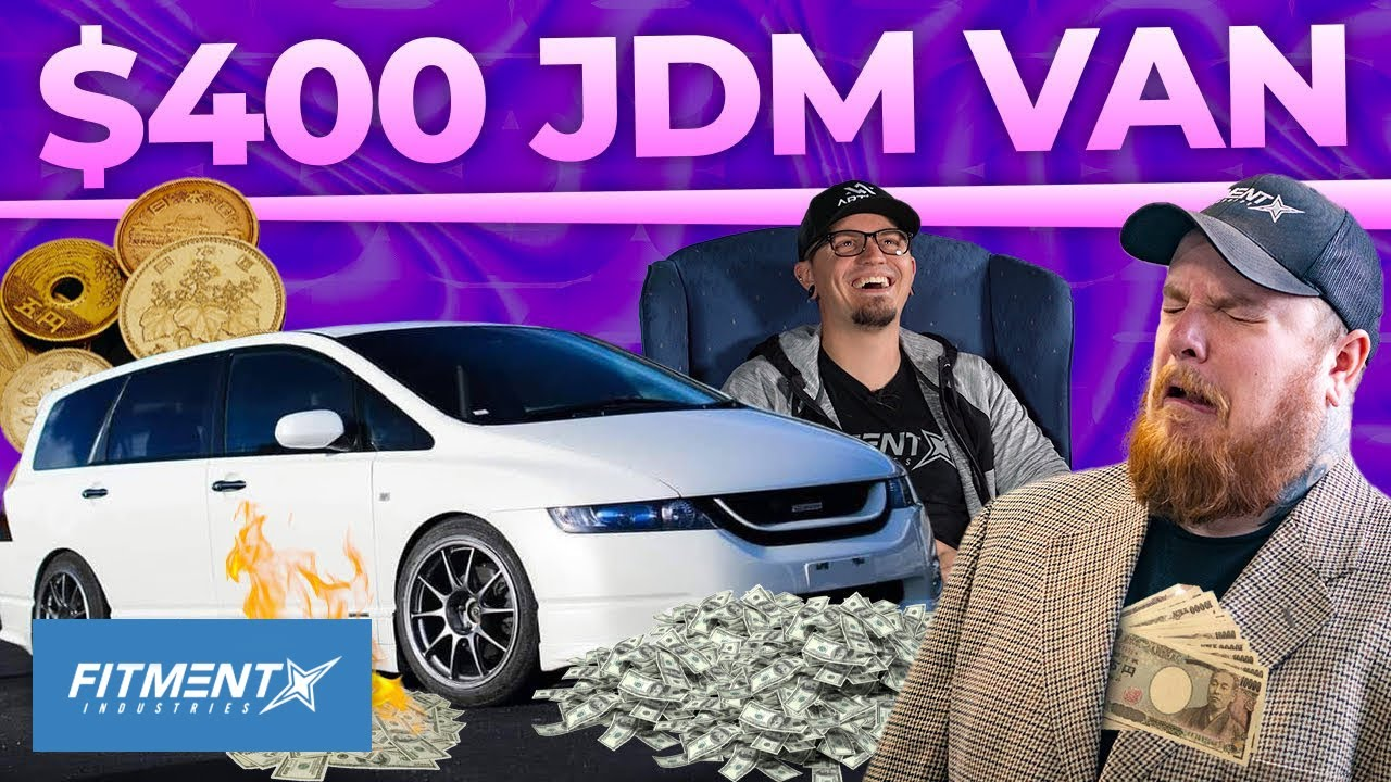 He Bought an IMPORTED JDM Van for $400?! Roasting a Honda Odyssey Owner