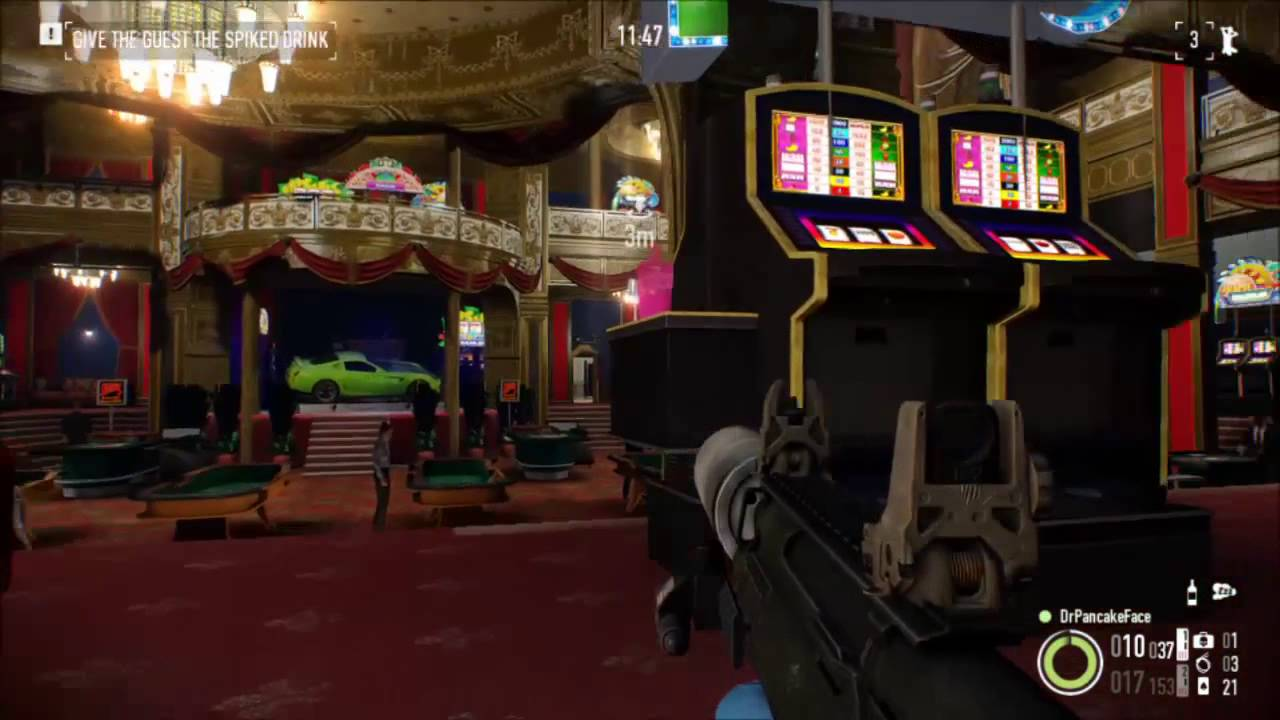 Payday 2 Golden Grin Casino Blueprints