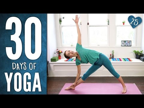 Day 25 - Dancing Warrior Sequence - 30 Days of Yoga