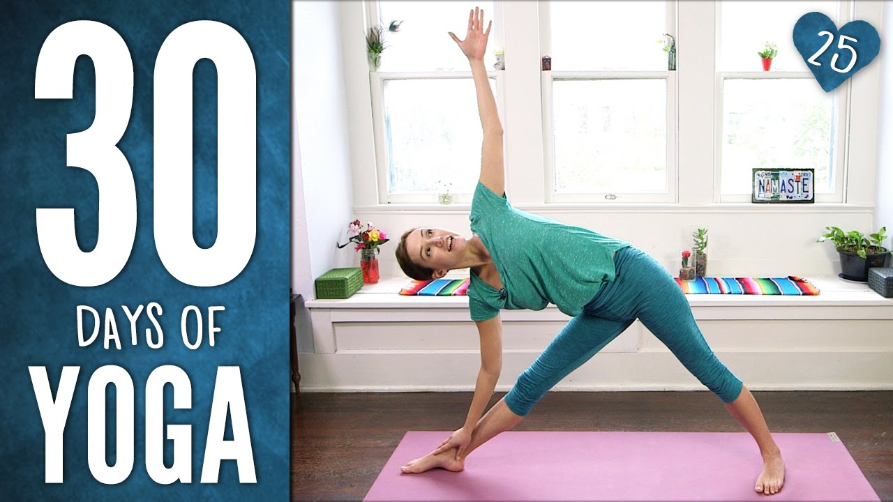 Yoga Warrior Sequence Video