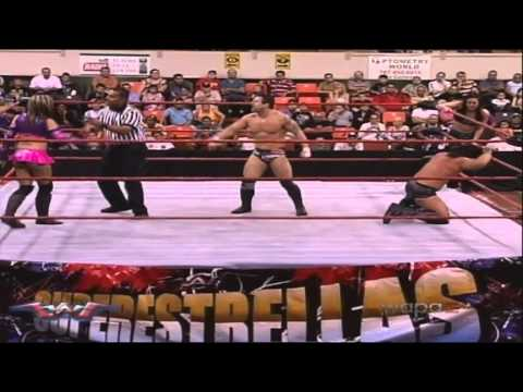 """Aniversario WWC 39 en San Germán Puerto Rico: """"Davey Richard y Melina vs Velvet Sky y Xix Savant"""""""