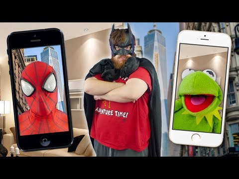 Kermit the Frog FACETIMES Spiderman for new SUPERHERO MOVIE!