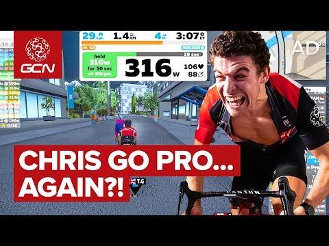 Can Chris Go Pro Again? Zwift Academy Explained!   GCN