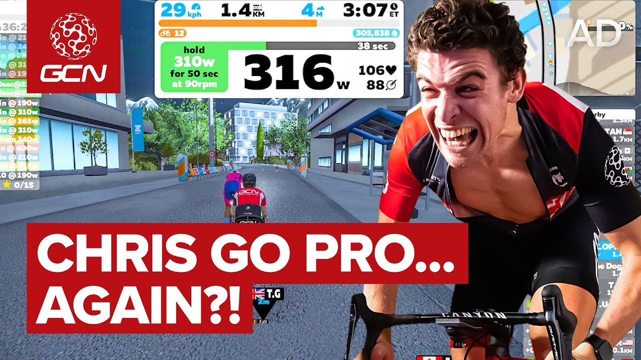 Can Chris Go Pro Again? Zwift Academy Explained!