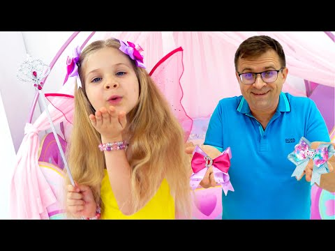 Diana Needs a New Hairstyle! Dad Helps Her Choose New Fashion Jewelry & Accessories Claire's