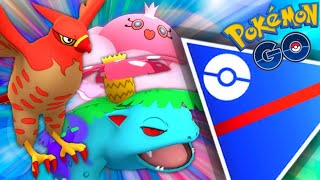 Talonflame New S Rank in GO Battle League for Pokemon GO / Jellicent, Shadow Venusaur & Talonflame