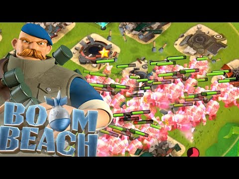 Will 32 MAXED Grenadiers with Boosted Tribe Work?! (Boom Beach)