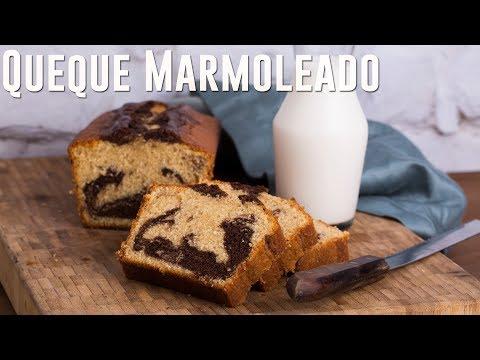 COMO PREPARAR QUEQUE MARMOLEADO (KEKE MARMOLEADO)