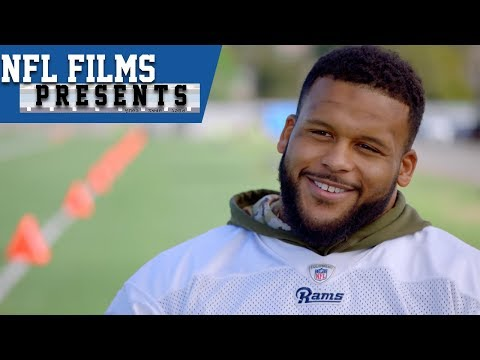 "Aaron Donald's ""Sharp"" Training Technique 