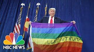 How LGBTQ-Friendly Is Donald Trump? | NBC News NOW