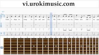 Học Đàn Guitar We Wish You a Merry Christmas Hướng Dẫn  Bài Hát Phần 2 um-b687