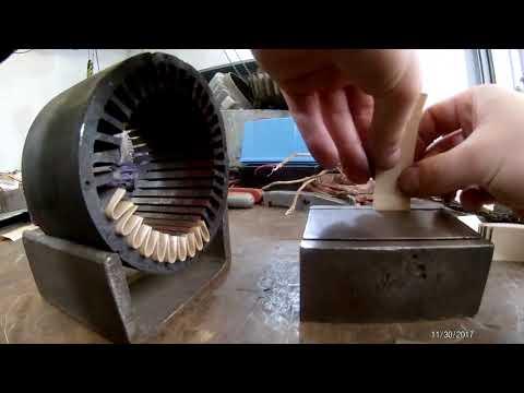 Выпуск №1. Ремонт асинхронного двигателя Loher D3a71b - 6