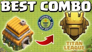 [TIP] TH6 BAY CÚP RANK TITANS VỚI COMBO GÌ ? | CLASH OF CLANS |TH6 GETS TO TITANS LEAGUE