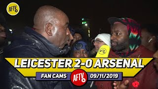 Leicester City 2-0 Arsenal | Emery Has Is United The Fanbase To Want Him Out! (Ben Randm)