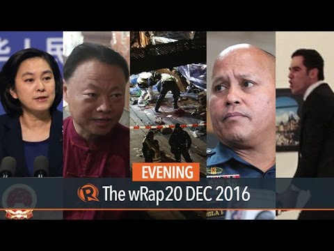 Cash gift, Chinese grant, US underwater probe | Evening wRap