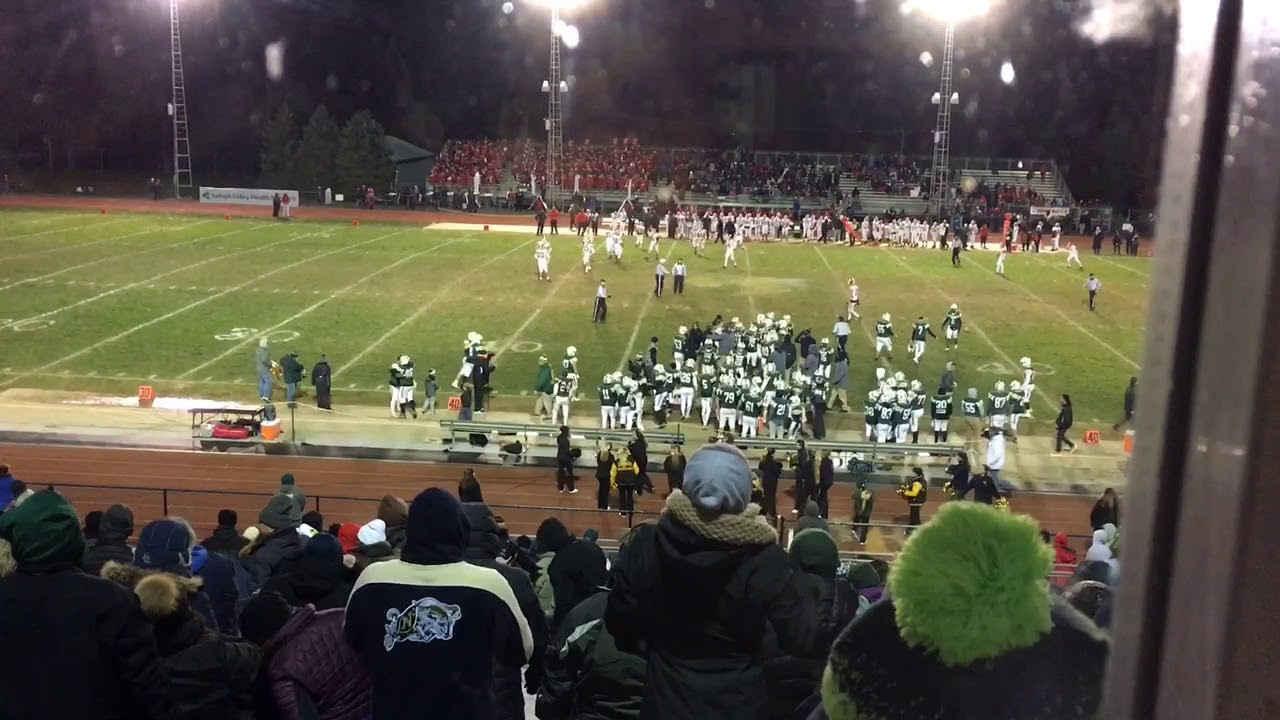 WATCH: Emmaus football closes out playoff win over Easton
