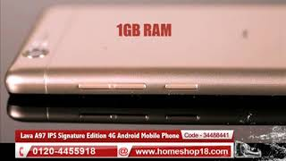 Homeshop18.com - Lava A97 IPS Signature Edition 4G Android Mobile Phone