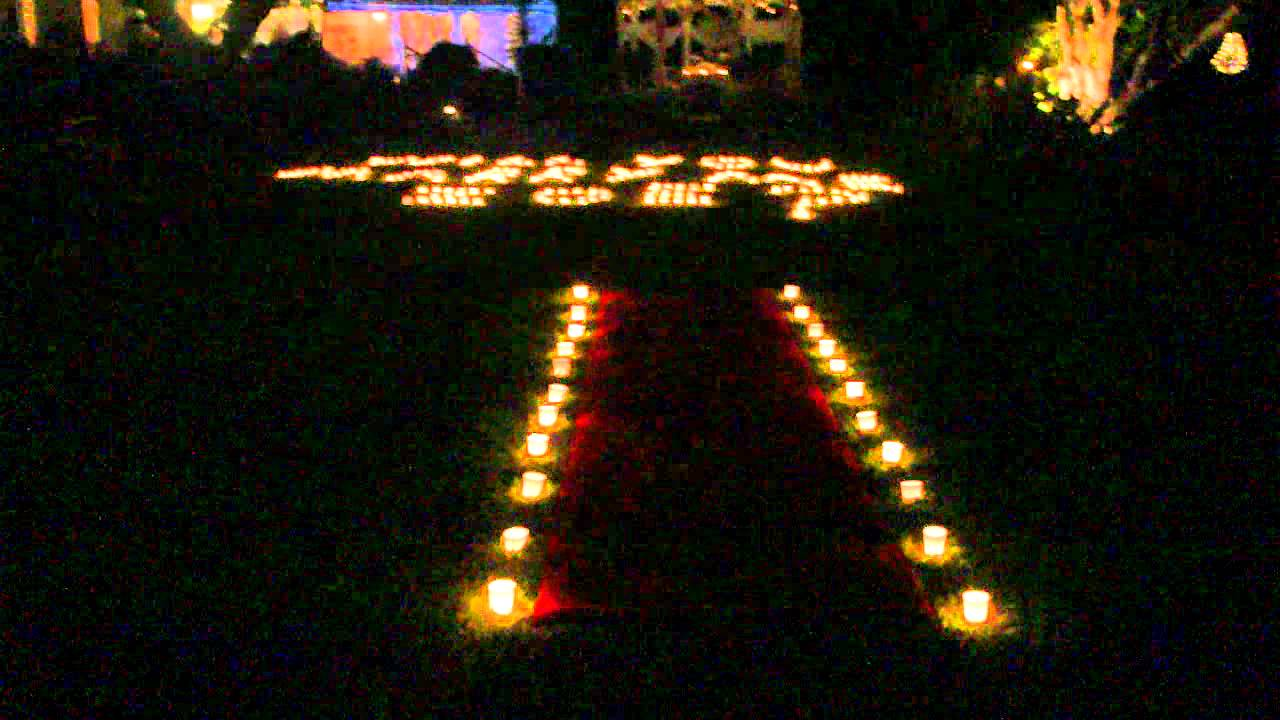 Candle Light Marriage Proposal