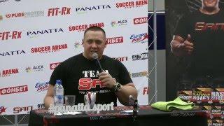 Михаил Кокляев читает в стиле Маяковского про алкоголь.