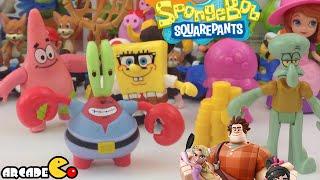 Nickelodeon SpongeBob SqurePants: Mr. Krabs, Squidward, Disney Frozen, Masha i Medved,Маша и Медведь