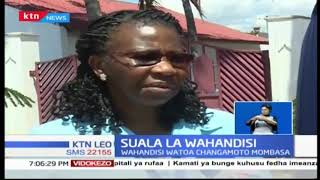 Wahandisi watoa changamoto Mombasa