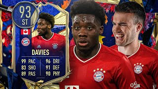 FIFA 21: TOTY DAVIES als STÜRMER Mind the Gap 🏃⚡😱