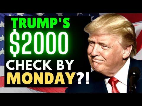 MAJOR Stimulus Update & $2000 Second Stimulus Check Update