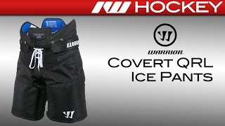 Warrior Covert QRL Ice Hockey Pants Review