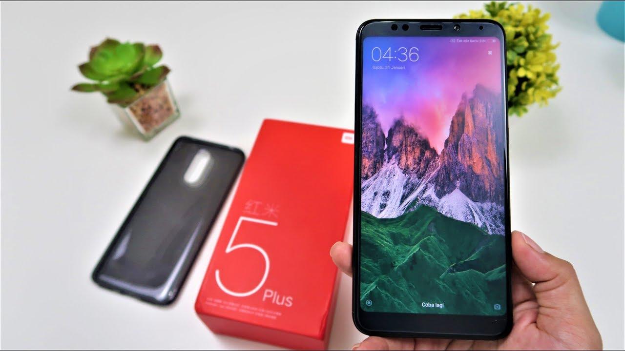 Unboxing Xiaomi Redmi 5 Plus Indonesia Warna Black