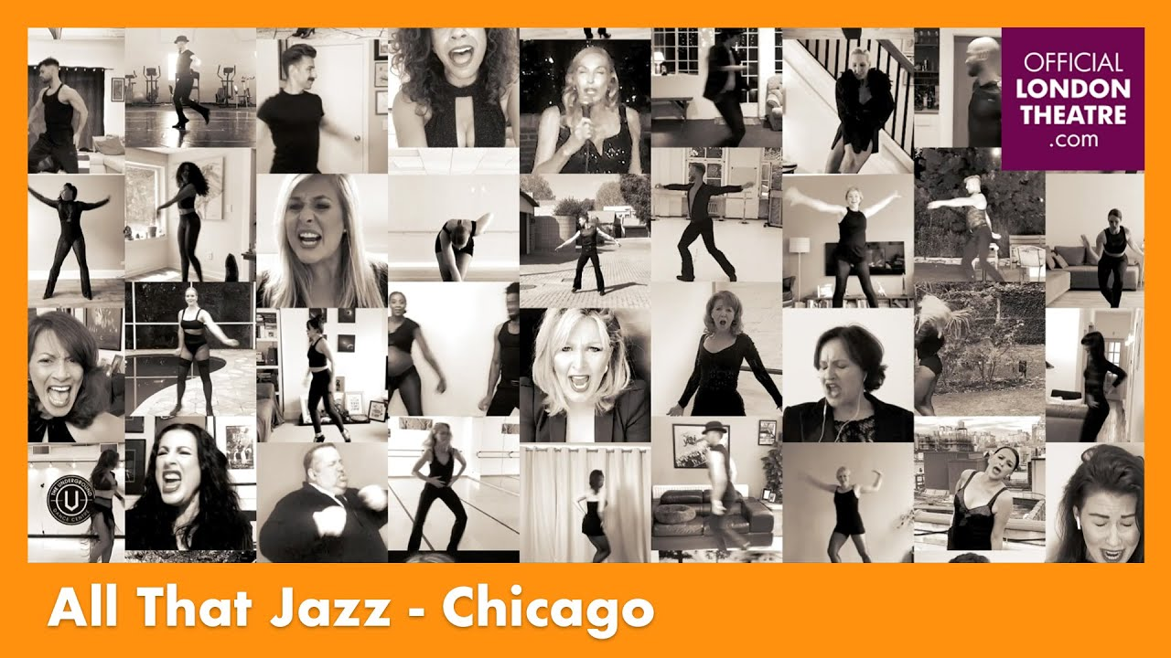 London Theatre comemora o aniversário do musical Chicago com a peformance de 'All That Jazz'