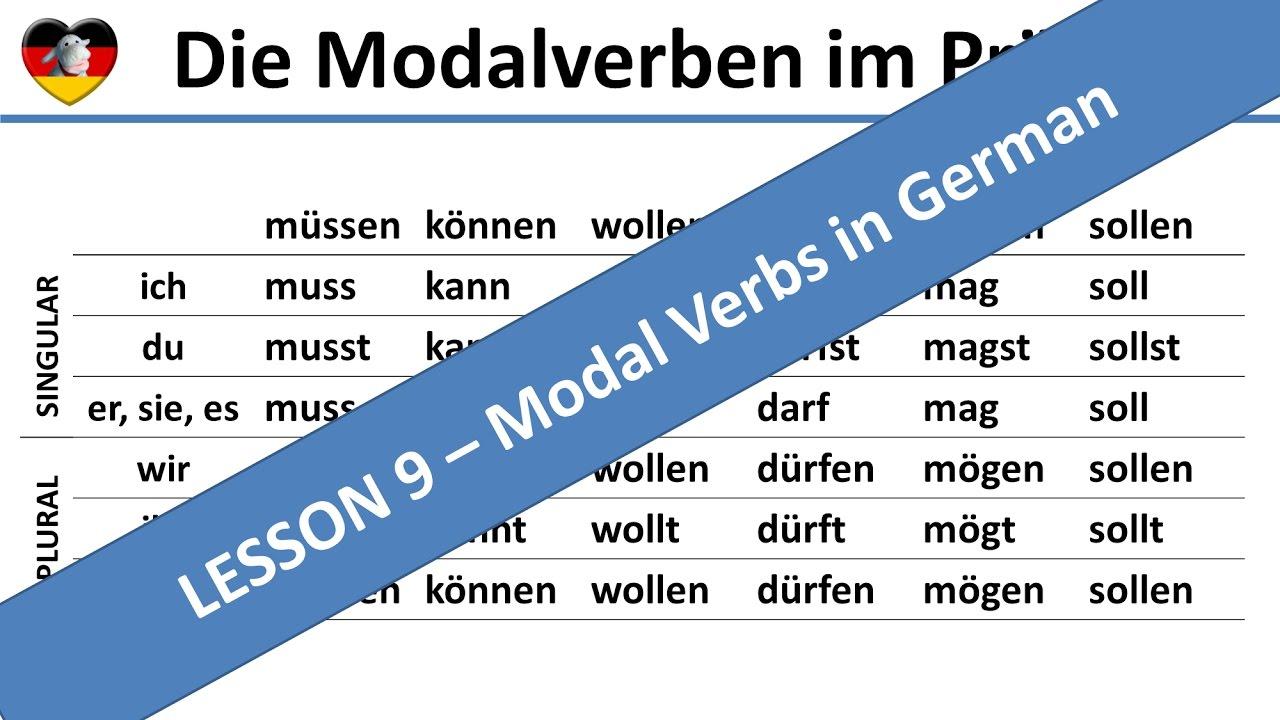 passiv modalverben grammatik t learn german. Black Bedroom Furniture Sets. Home Design Ideas
