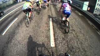 Гонка по Садовому кольцу ветеранов велоспорта