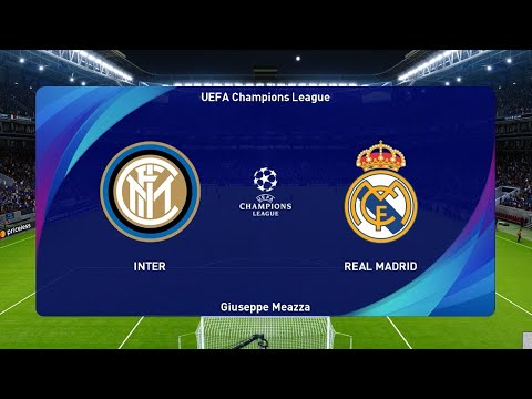 PES 2021 | INTER vs REAL MADRID | UEFA Champions League ...