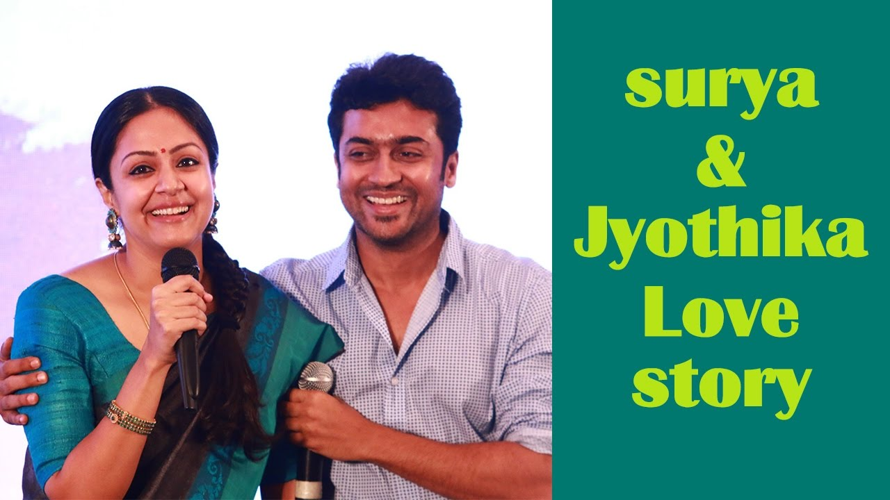 Love Story Of Actor Surya And Jyothika - Youtube-9137