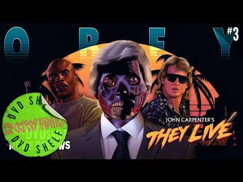 They Live | The DVD Shelf Movie Reviews #3 [Re-Upload W/ Upgraded Audio]