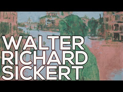 Walter Richard Sickert: A collection of 246 paintings (HD)