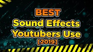 SOUND EFFECTS Pack 30+ pack SFX No Copyright  [Improve your YouTube Videos]