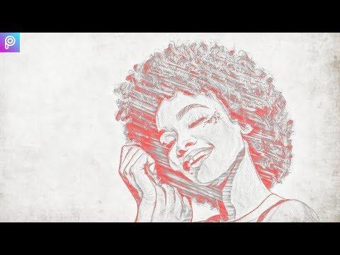 Sketch Art | PicsArt | thumbnail